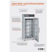 Laborkühlschränke mit explosionsgeschütztem Innenraum und Umluftkühlung